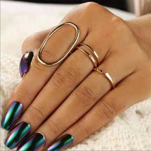 NWT Gold Ring Set